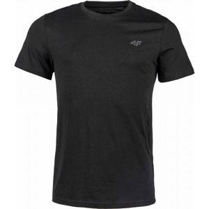 4F MEN´S T-SHIRT černá M - Pánské tričko