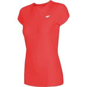 4F DÁMSKÉ TRIKO červená L - Dámské tričko