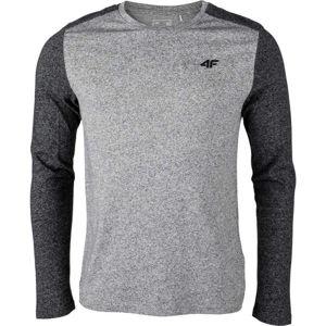 4F MEN´S LONGSLEEVE  M - Pánské tričko