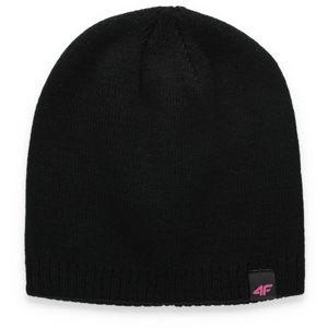 4F CAP černá S - Dámská čepice
