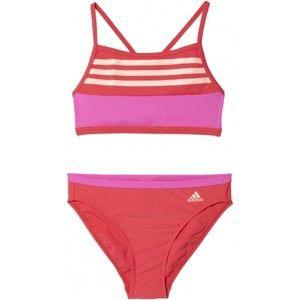 adidas BY 3S CB BIKINI - Dívčí dvoudílné plavky