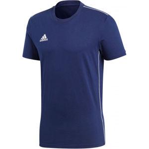 adidas CORE18 TEE modrá XXL - Pánské tričko