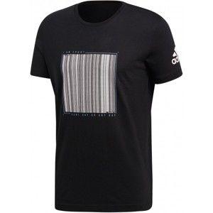 adidas BARCODE TEE - Pánské triko