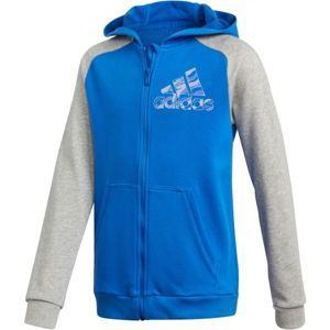 adidas COMMERCIAL PACK FULL ZIP HOODIE - Chlapecká mikina