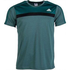 adidas OSR M FRLFT TEE tmavě zelená XL - Pánské sportovní triko