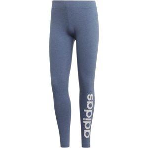 adidas E LIN TIGHT DENIM modrá XS - Dámské legíny