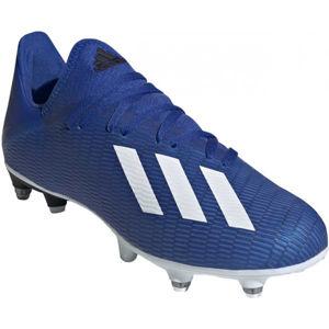 adidas X 19.3 SG modrá 8 - Pánské lisokolíky