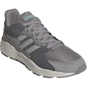 adidas CRAZYCHAOS šedá 8 - Pánská volnočasová obuv