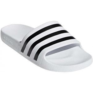 adidas ADILETTE AQUA bílá 8 - Unisexové pantofle