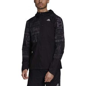 adidas OWN THE RUN JKT černá XL - Pánská běžecká bunda