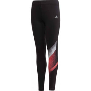 adidas YG UNLEASH CONFIDENCE TIGHT  116 - Dívčí legíny