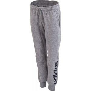adidas ESS LIN PANT tmavě šedá XL - Dámské teplákové kalhoty