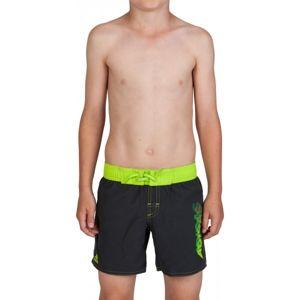 adidas YOUTH LINEAGE SHORT černá 116 - Chlapecké plavecké šortky