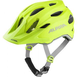 Alpina Sports CARAPAX JR FLASH žlutá (51 - 56) - Dětská cyklistická helma