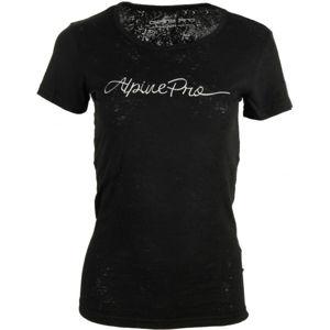 ALPINE PRO BELENA černá S - Dámské triko