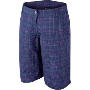 ALPINE PRO COALA tmavě modrá 34 - Dámské 3/4 kalhoty
