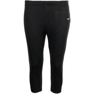 ALPINE PRO DAGANA černá XS - Dámské capri kalhoty