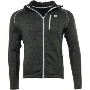 ALPINE PRO EXXON 2 tmavě šedá M - Pánský svetr