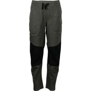 ALPINE PRO RAANO šedá 116-122 - Dětské kalhoty