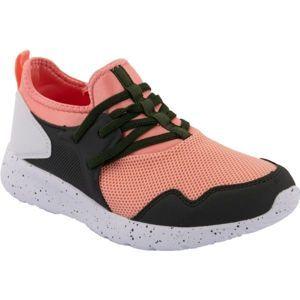 ALPINE PRO ALFIA oranžová 35 - Juniorská sportovní obuv