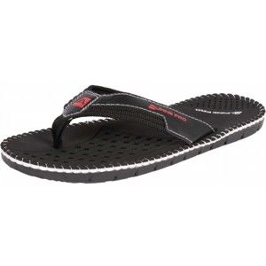 ALPINE PRO SUNSPOT černá 42 - Pánská letní obuv