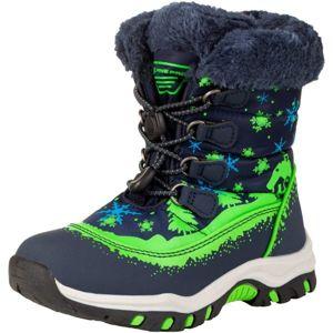 ALPINE PRO TREJO - Dětská zimní obuv