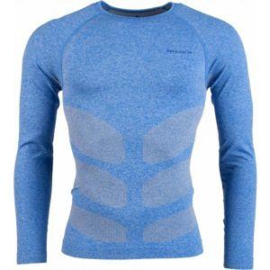 Arcore CESAR modrá M - Pánské funkční triko s dlouhým rukávem
