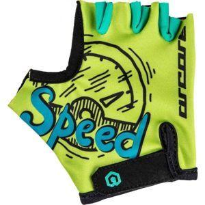 Arcore LUKE zelená 6 - Dětské cyklistické rukavice