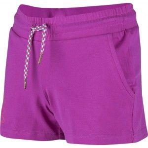 Aress LUCY fialová 152-158 - Dívčí sportovní šortky