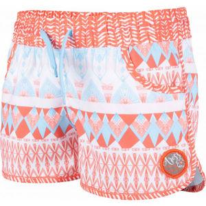 Aress OPAL JNR CORAL oranžová 116-122 - Dívčí šortky