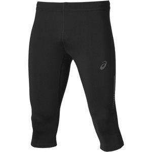 Asics KNEE TIGHT černá XL - Pánské 3/4 kalhoty