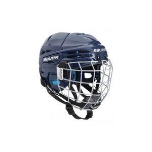 Bauer PRODIGY COMBO YTH tmavě modrá 48-53,5 - Dětská helma s mřížkou