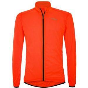 Briko FRESH PACKABLE oranžová M - Lehká cyklistická bunda