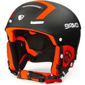 Briko FAITO FLUID INSIDE černá (56 - 58) - Pánská lyžařská helma