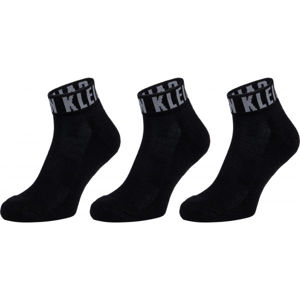 Calvin Klein MEN QUARTER 3P LOGO CUFF DRAKE  UNI - Pánské ponožky