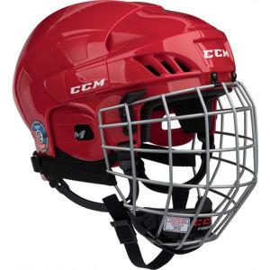 CCM 50C HF COMBO SR červená M - Hokejová helma