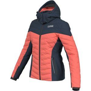 Colmar L. DOWN SKI JACKET oranžová 40 - Dámská lyžařská bunda