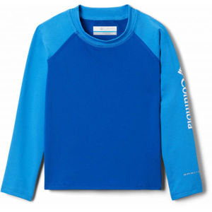 Columbia SANDY SHORES LONG SLEEVE SUNGUARD modrá M - Dětské triko