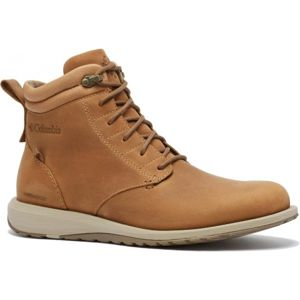 Columbia GRIXSEN BOOT WP hnědá 7.5 - Pánská vycházková obuv