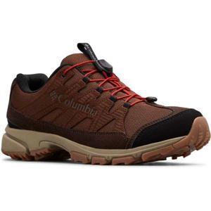 Columbia FIVE FORKS WP hnědá 8 - Pánská outdoorová obuv
