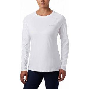 Columbia WINDGATES LS TEE bílá L - Dámské sportovní triko