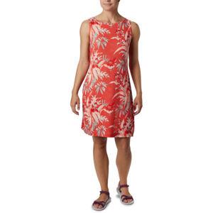 Columbia CHILL RIVER™ PRINTED DRESS červená XL - Dámské šaty s potiskem