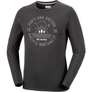 Columbia MILL CREEK LONG SLEEVE TSHIRT - Pánské triko s dlouhým rukávem