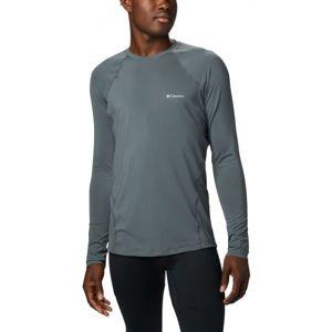 Columbia MIDWEIGHT LS TOP M šedá M - Pánské funkční triko