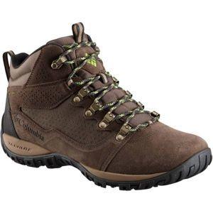Columbia PEAKFREAK VENTURE MID SUEDE WP - Pánská outdoorová obuv