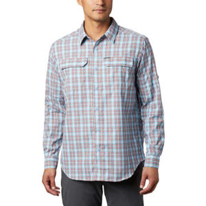 Columbia SILVER RIDGE™ 2.0 PLAID L/S SHIRT modrá L - Pánská košile s dlouhým rukávem