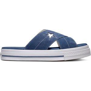 Converse ONE STAR SANDAL tmavě modrá 37.5 - Dámské pantofle