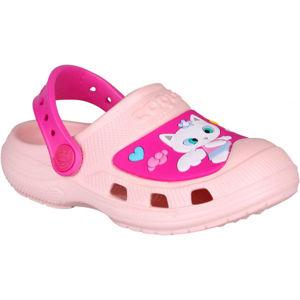 Coqui CROAKY růžová 25/26 - Dětské sandály