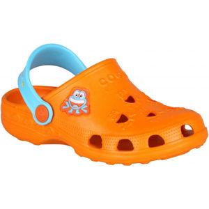 Coqui LITTLE FROG oranžová 23/24 - Dětské sandály