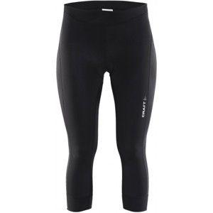 Craft BALANCE 3/4 KALHOTY W černá XS - Dámské cyklistické kalhoty